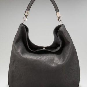 Yves Saint Laurent ( Roady) Large leather hobo